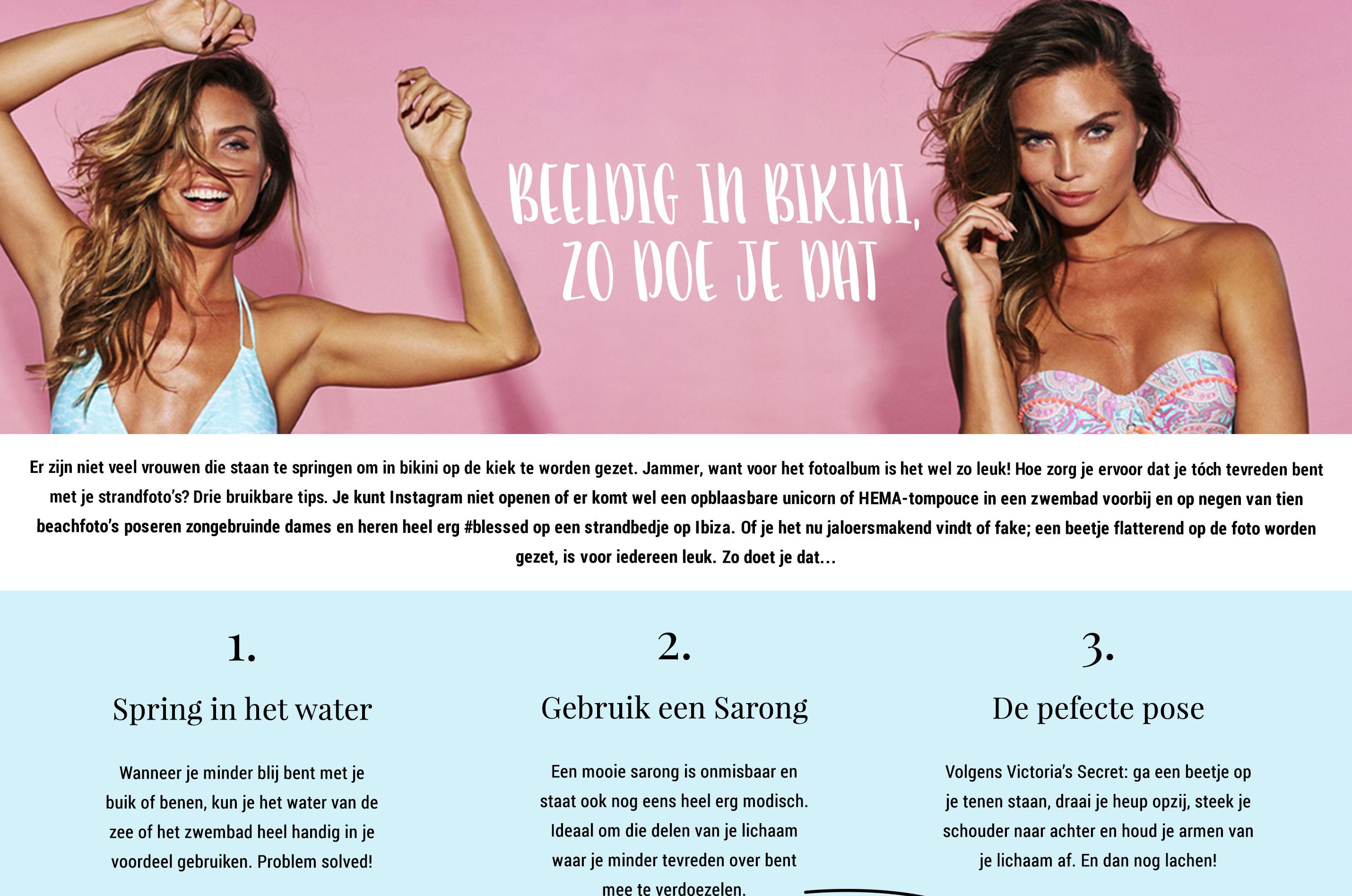 Beeldig in Bikini 1
