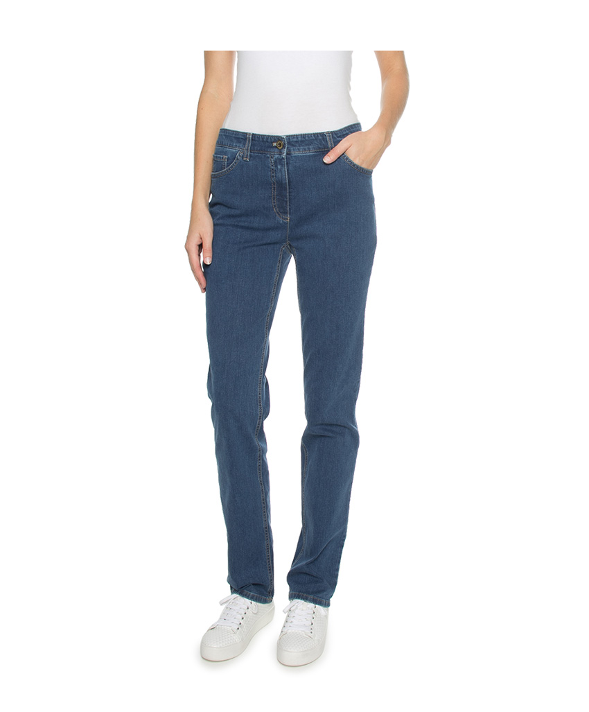 Gerry Weber Edition Jeans 26410077 Blauw 92307 67930