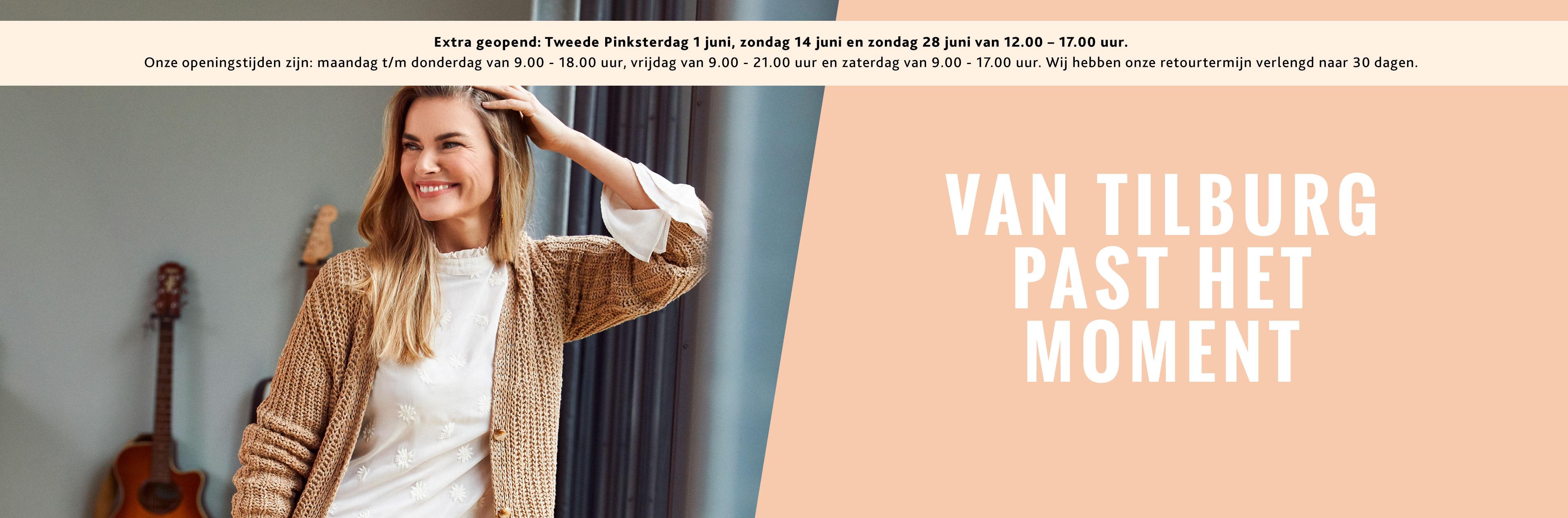 Van Tilburg past het moment